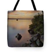 Cayuga Sunset I Tote Bag by Michele Steffey