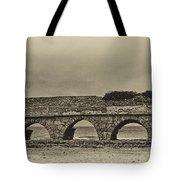 Ceasarea Aqueduct 1 Antiqued Tote Bag