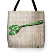 Ceci N'est Pas Une Cuillere By Neo Tote Bag