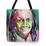 Cecil Taylor - Watercolor Portrait Tote Bag