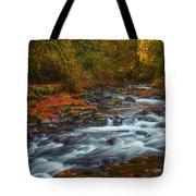 Cedar Creek Morning Tote Bag