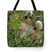 Cedar Flower Three Tote Bag