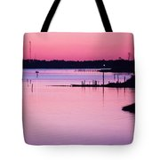 Cedar Island Pinks Tote Bag