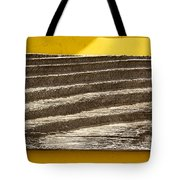 Cedar Plank On Yellow Tote Bag