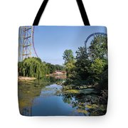 Cedar Point Ohio Tote Bag