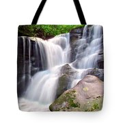 Cedar Rock Creek Falls Tote Bag