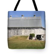 Cedar View Farm Barn Tote Bag