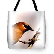 Cedar Waxwing - Img_9833-004 Tote Bag