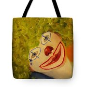 Cee-cee, Child Clown  Tote Bag