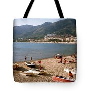 Cefalu Beach 1 Tote Bag