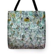 Ceiling Of Dollar Bills  Tote Bag