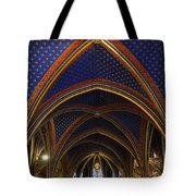 Ceiling Of The Sainte-chapelle  Paris Tote Bag