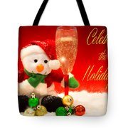 Celebrate The Holidays Tote Bag