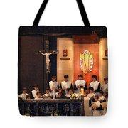 Celebrating God Tote Bag