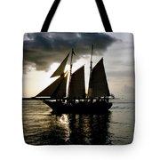Celebrating Sunset Photograph Tote Bag