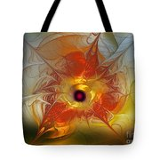 Celebration For A Rising Star-abstract Fractal Art Tote Bag