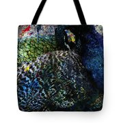 Celebration Of The Peacock #2 Tote Bag