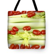 Celery And Tomatoes Tote Bag