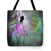 Celestial Dream Of Crow Tote Bag