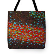 Cell Tube Tote Bag