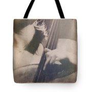 Cello Player Tote Bag
