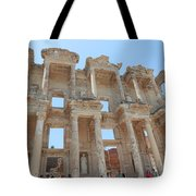 Celsus Library In Ephesus Tote Bag