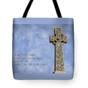 Celtic Blessing 2 Tote Bag