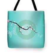 Celtic Blossom Tote Bag