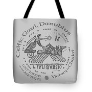 Celtic Chariot Coin Tote Bag