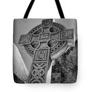 Celtic Cross At Trinity Tote Bag