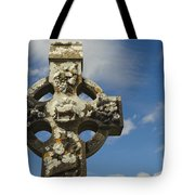 Celtic Cross, Cong Abbey, Ireland Tote Bag
