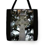 Celtic Cross In Savannah Tote Bag