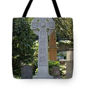 Celtic Cross Of Charleston  Tote Bag