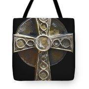 Celtic Cross Sepia Tote Bag