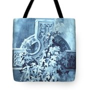 Celtic Cross Study Tote Bag