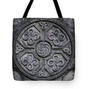 Celtic Cross Symbolism Tote Bag