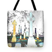 Celtic Crosses Tote Bag