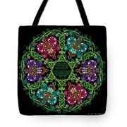 Celtic Fairy Mandala Tote Bag