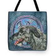Celtic Hound Tote Bag