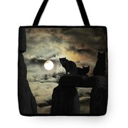 Celtic Nights Selective Coloring Tote Bag
