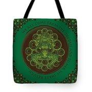 Celtic Pagan Fertility Goddess Tote Bag