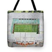 Celtic Park Stadia Art - Celtic Fc Tote Bag