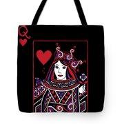 Celtic Queen Of Hearts Part I Tote Bag
