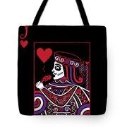 Celtic Queen Of Hearts Part Iv The Broken Knave Tote Bag