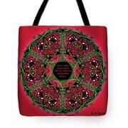 Celtic Summer Fairy Mandala Tote Bag