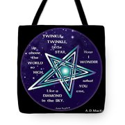 Celtic Twinkle Twinkle Tote Bag