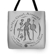 Celtic Vercingetorix Coin Tote Bag