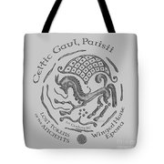 Celtic Winged Horse Epona Coin Tote Bag