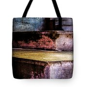 Cement Steps Number One Tote Bag