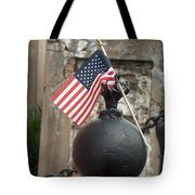 Cemetary Flag Tote Bag
